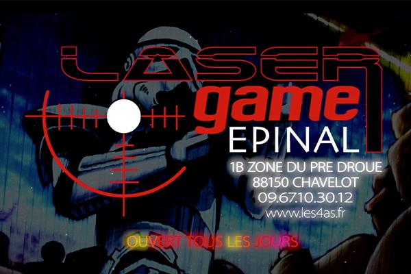 Laser game epinal