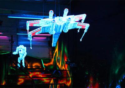 Le Complexe Davezieux laser game