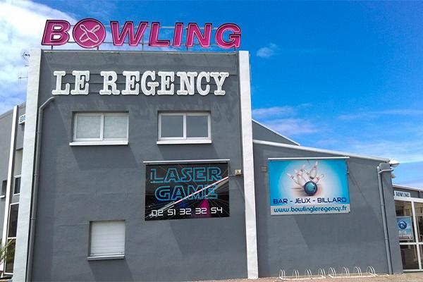 """BOWLING / LASER GAME COTE DE LUMIERE """"LE REGENCY"""""""