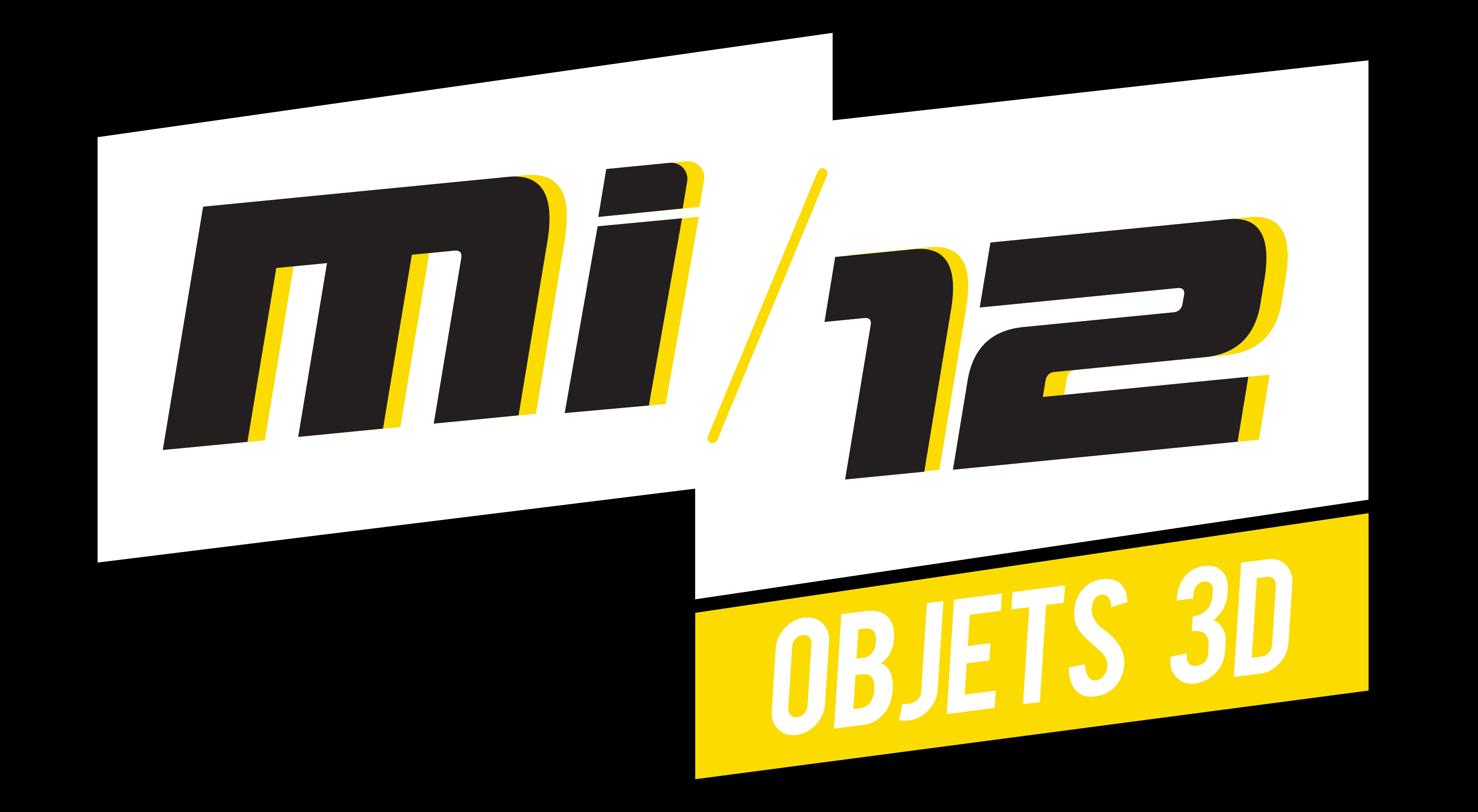 Logo MI-12 objets 3D