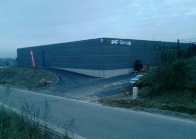 IMF Group en lettrage 3D