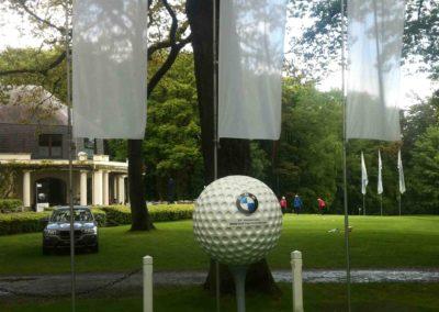 Balle de golf BMW en lettrage 3D