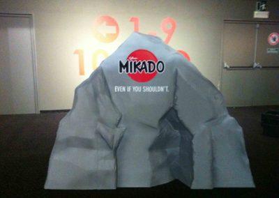 Rocher Mikado en objet 3D