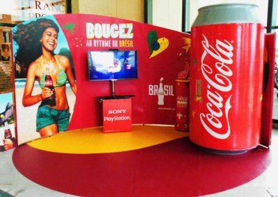 Cannette de Coca-Cola en objet 3D