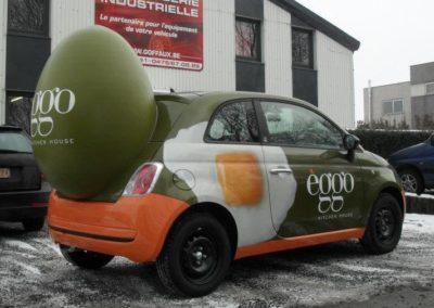 Oeuf Eggo en objet 3D