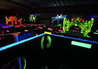 Création d'un laser game MI-12