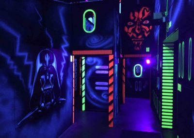 Laser game Star Wars par MI-12