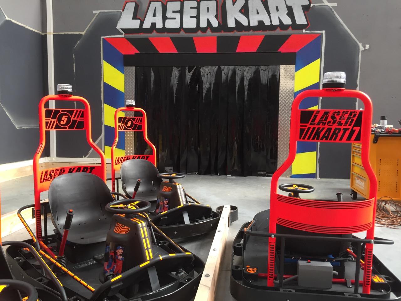 Laser kart réalisation