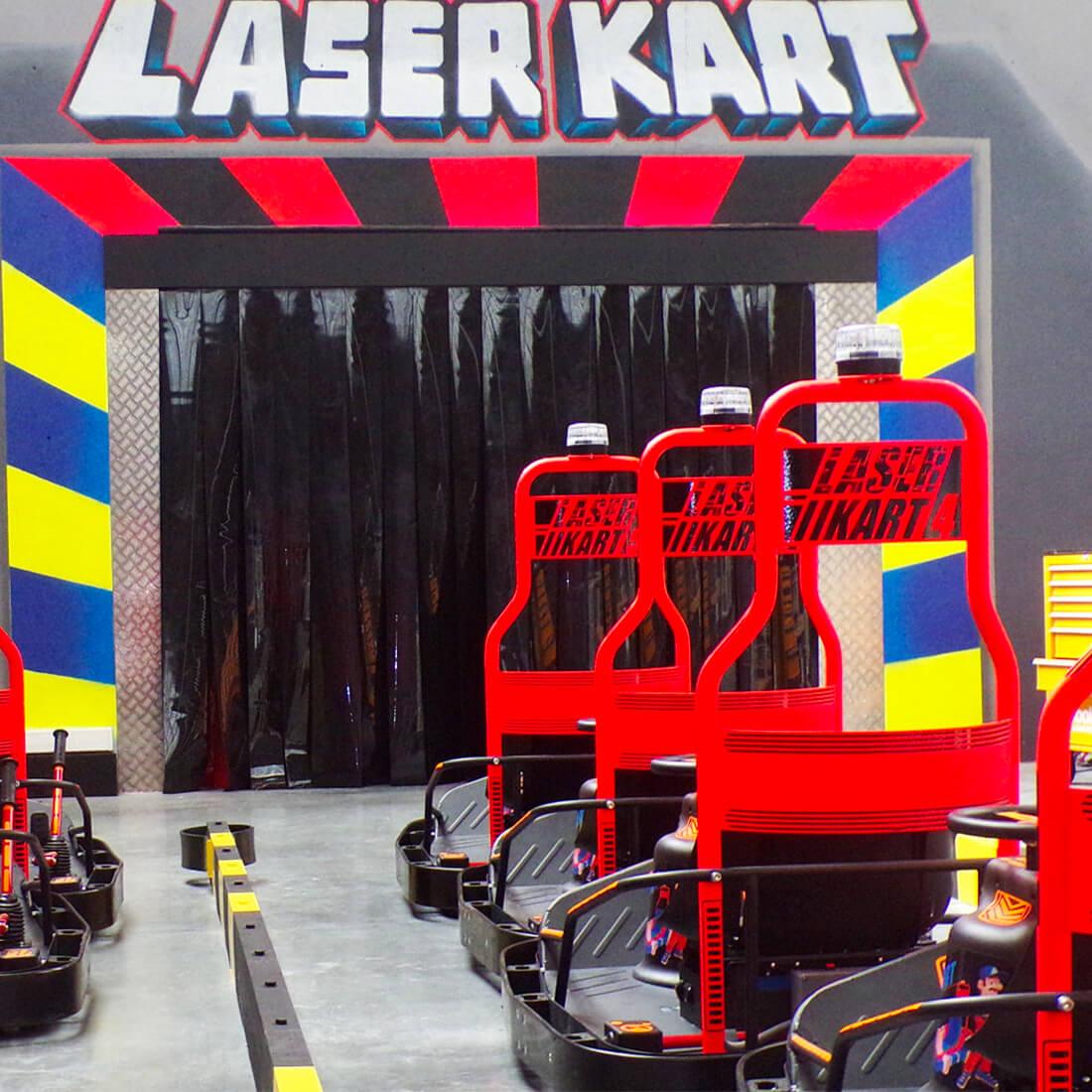 Laser kart