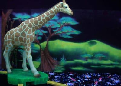 Glowyland mini-golf et décor 2D